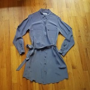 Equipment Classic Silk Shirtdress Size XS